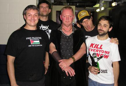 Clive Jones and Propagandhi
